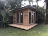 Mod Cabana No.12 with cedar cladding