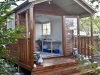 Porch Cabana No.20 with cedar cladding